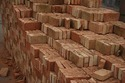 Floor Red Bricks For Side Wall