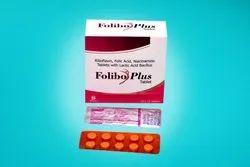 Reboflavin Folic Acid Niacinamide Tablets