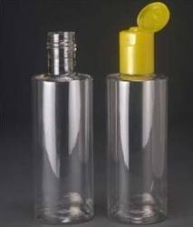200ml Pet Round Bottle with 24mm FTC