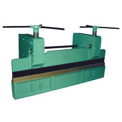 Hand Operated Sheet Bending Press Machine