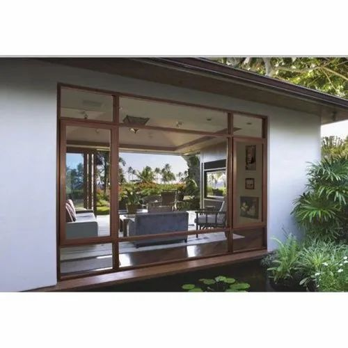 Mahogany Residential UPVC Combination Windows