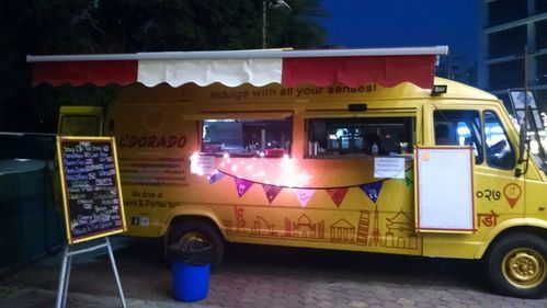 Food Truck Mobile Van Food Truck Manufacturer From Pune