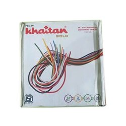 Copper Khaitan Industrial Cables, Packaging Type: Roll, 650 V