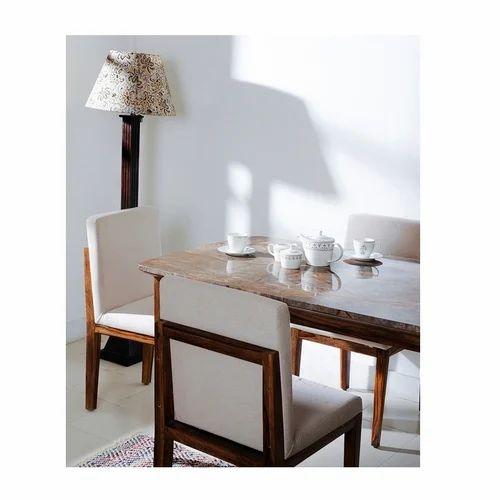 Scandi Chair | Natural Sheesham Wood Fabindia Scandi Upholstered Dining Chair Rs