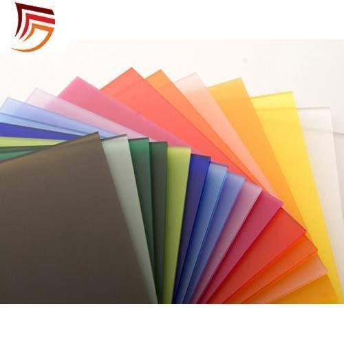 Acrylic Plastic Transparent Color Sheets at Rs 1600 /sheet ...