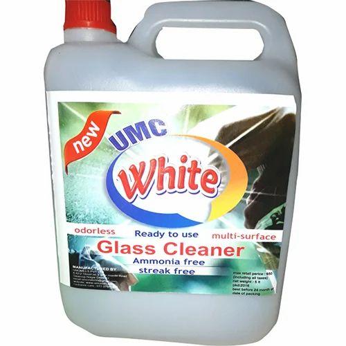 White Glass Cleaner