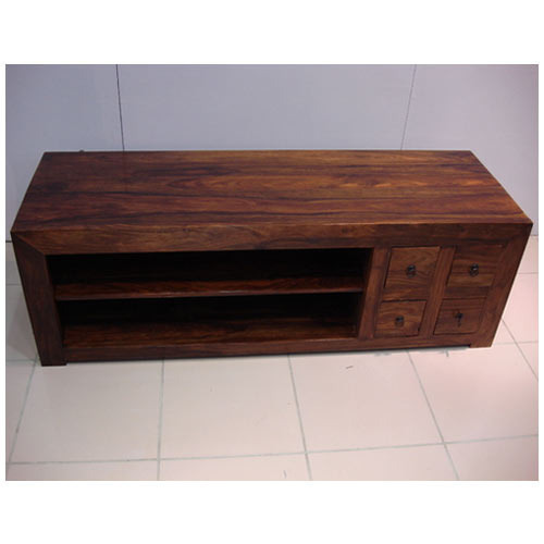 Brown Wooden Tv Table