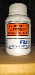 Eyre 7 Aluminium Soldering Flux