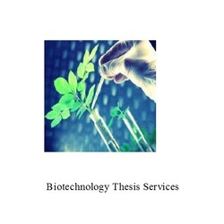 Biotechnology Thesis Services