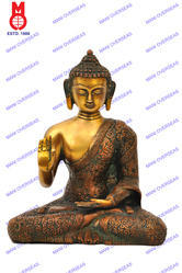 Lord Buddha Blessing Hand W/out Base