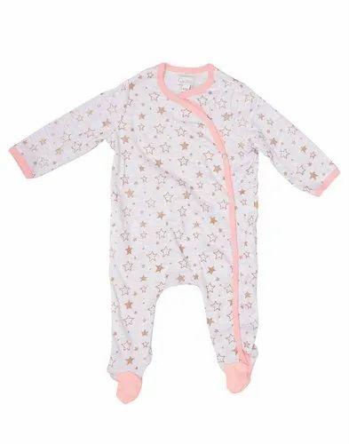 Unisex Cotton Kids Full Sleeve Romper For Daily