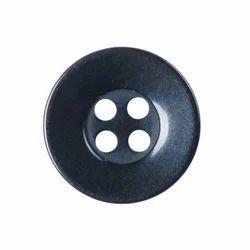 Black Garment Button