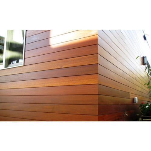 Exterior wood wall cladding sheet 77067 rs 350 square feet fabreca unit of building for Wooden cladding for exterior walls