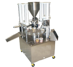 Curd Cup Packaging Machine