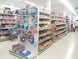 Supermarket Hanging Display Rack