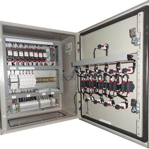Mild Steel Three Phase Electric Control Panel, IP Rating: IP40