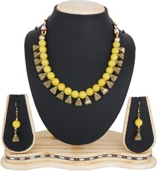 Gold Plated Jewellery Pendant Necklace