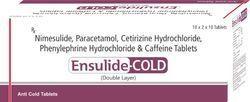 Nimesulide Paracetamol Cetirizine Hydrochloride Phenylephrine Hydrochloride & Caffeine Tablets
