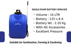 single pump battery sprayer