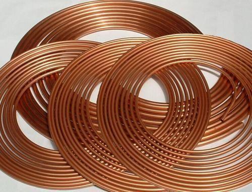 Copper Pan Cake Coils