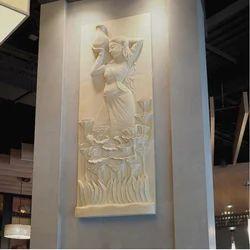 Wall Sculpture, For Interior Decor And Exterior Decor