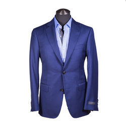 Semi-Formal Blue Designer Blazer, Size: 32-46 Inch