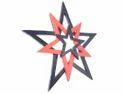 Woodennxt 3 Hanging Stars