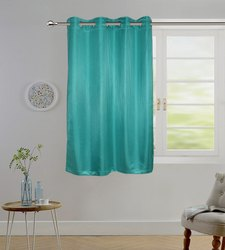 Lushome Torronto Silk Striped Window Curtain