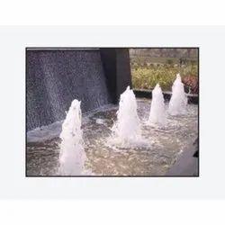Electric Modern Geyser Fountain, 1-3 Inch