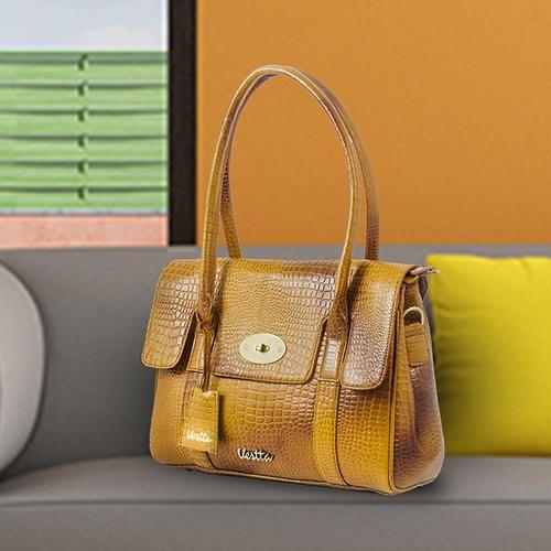 a63ff73ed48 Ladies Leather Handbag - Ladies Leather Satchel Handbag Manufacturer from  Mumbai
