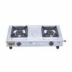 Biogas Stove Double Burner Mini Supreme Plus