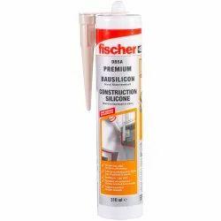 Fischer DBSA W Silicon White Sealants, 300 ml
