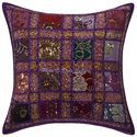 Patchwork Sequins Hand Embroidered Cushion Covers
