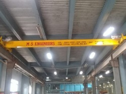 Single Girder I-Beam Type EOT Crane