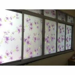 Pvc Decorative Glass Film Services, Packaging Type: Roll
