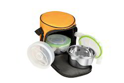 Food ''N'' Food 2 Plus 1 Carry Lunch Boxes