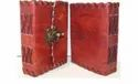 Small Leather Cover Journal with Latch