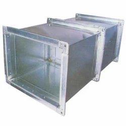GI Rectangular Duct, For Industrial