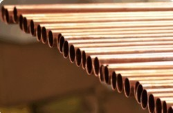 Brown Copper Pipes, For Oil Cooler Pipe