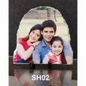 Grey Table Top Antique Wooden Photo Frame, Packaging Type: Carton Box