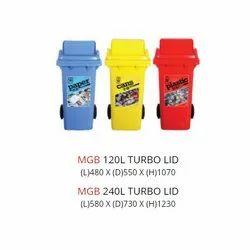 120L MGB Turbo Dustbin