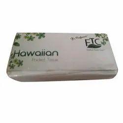 FTC White Hawaiian Pocket Tissue Paper