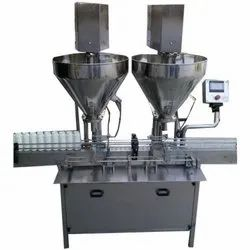 Single Head Auger Type Powder Filling Machine