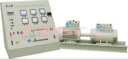 Induction Motor Compound Generator Lab Trainer