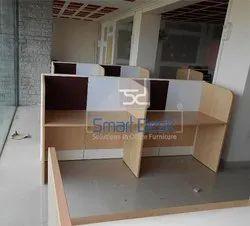 Modular Wooden Workstation