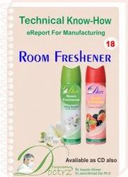 Room Freshener Making Technical Knowhow Report With Formulation Ebook