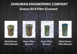 Grasso RC9 Filter Element