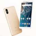 Gold Mi A2 Mobile Phone