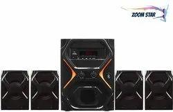 Electric Black Zoom Star IT-6363 Bluetooth 4.1 Multimedia Speakers