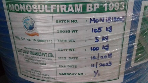 Monosulfiram BP for Commerical